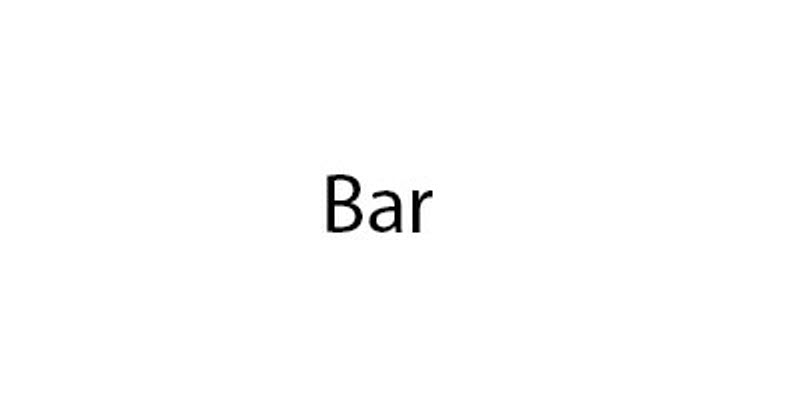 Logotype for Bar