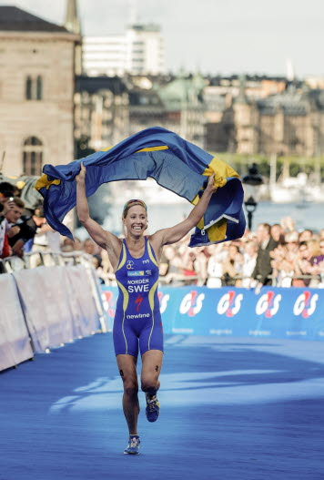 Lisa Nordén triathlete
