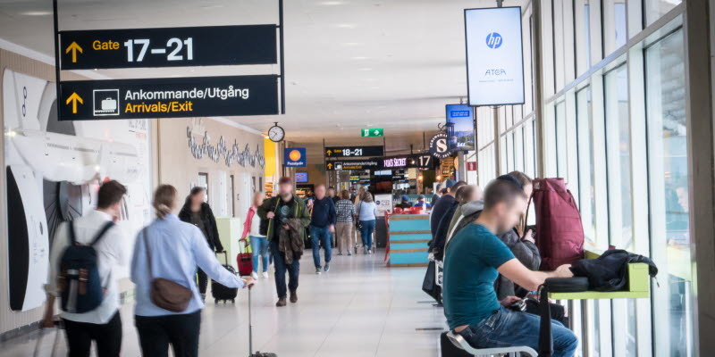 Airport Advertising Göteborg Landvetter Airport