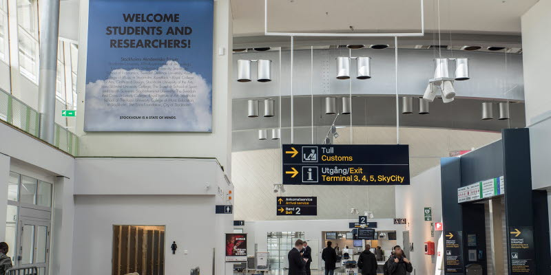 Airport Advertising Stockholm Arlanda Airport