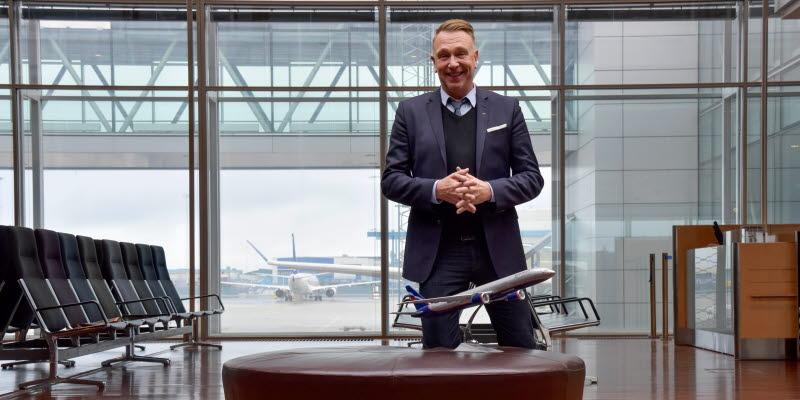 Johan Eriksson, Aeroflot