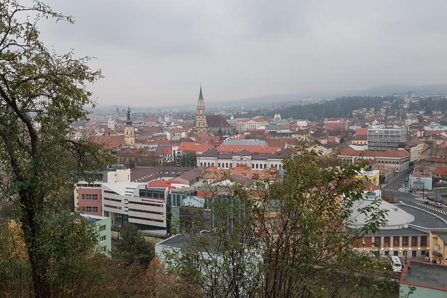 Utsikt över Cluj -Napoca