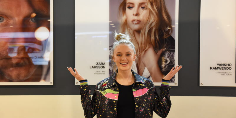Zara Larsson inviger Welcome to my Hometown
