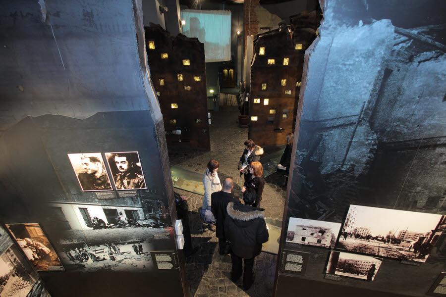 ett museum i Warszawa
