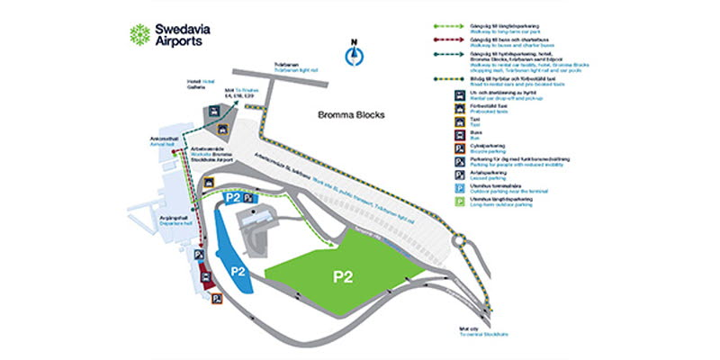 Information About The New Entrance Road At Bromma Stockholm