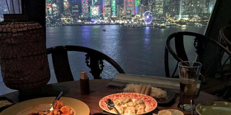 Restaurang i Hongkong