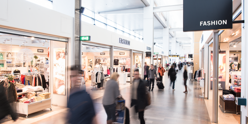 Fashion store in Terminal 5 Arlanda
