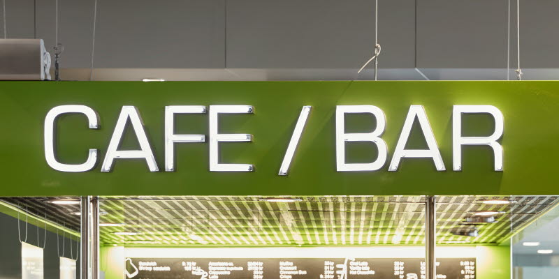 Cafe/Bar logotype