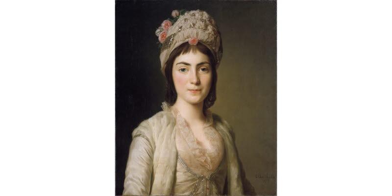 Zoie Ghika, moldavisk prinsessa, Sign. 1777