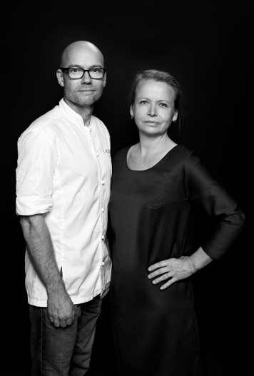 Magnus Ek and Agneta Green chefs and restaurateur